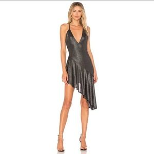 Revolve H:ours That Love Dress Gunmetal S